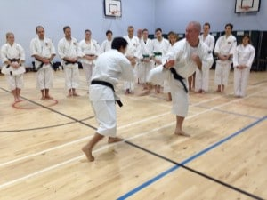 Anders-sensei teaches at gasshuku in England