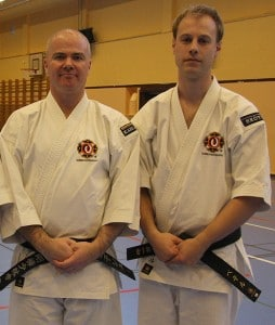 Retiring and new Shibu-chō in Skövde, Anders & Peter