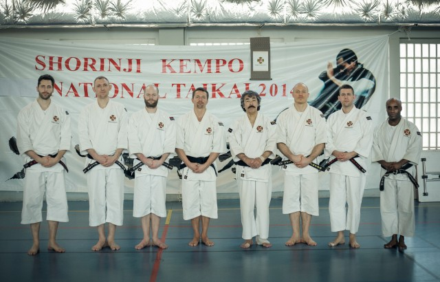 The Swedish participants in Paris, from the left; Kennet, Pontus, Viktor, Anders, Aosaka-sensei, Alex, Fredrik, Kristoffer.