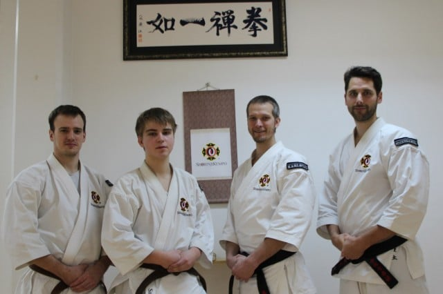 From left; Robert, Samuel, Richard & Kenneth. Congratulations to a successful grading.