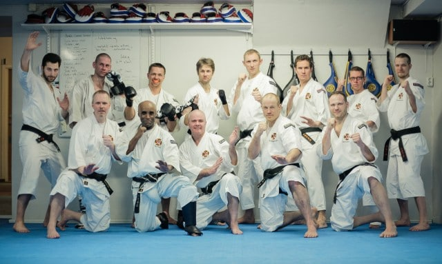 All participants on the spring instructors seminar