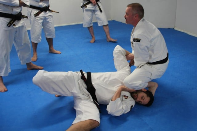 Stefan do ryu gatame on Kenneth